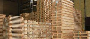 custom oversized wood pallet