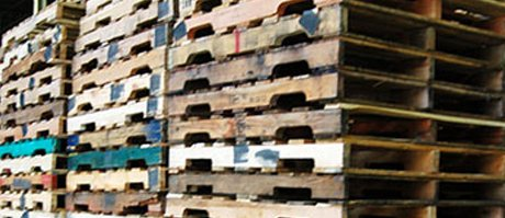 Recycled-Used Pallets